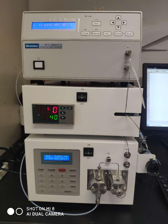 某高等學校采購我公司GPC100凝膠色譜系統